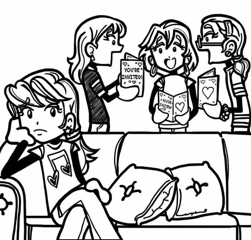 what to do when your friends don t invite you to stuff dork diaries