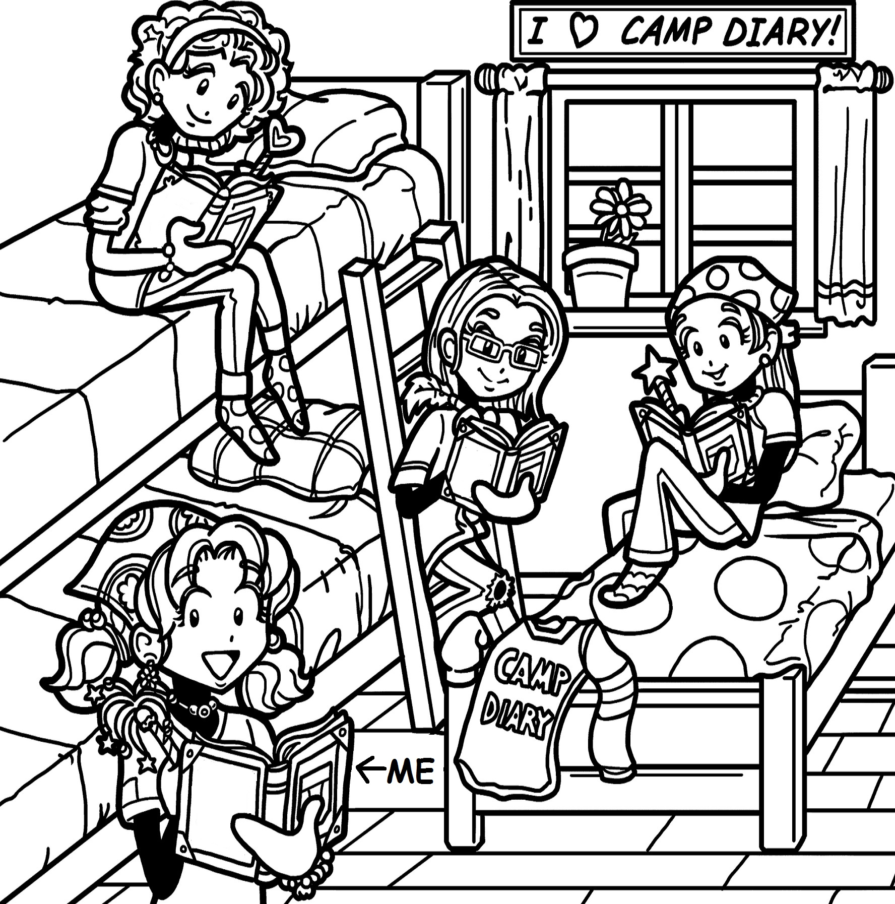 MY DREAM SUMMER CAMP!! – Dork Diaries
