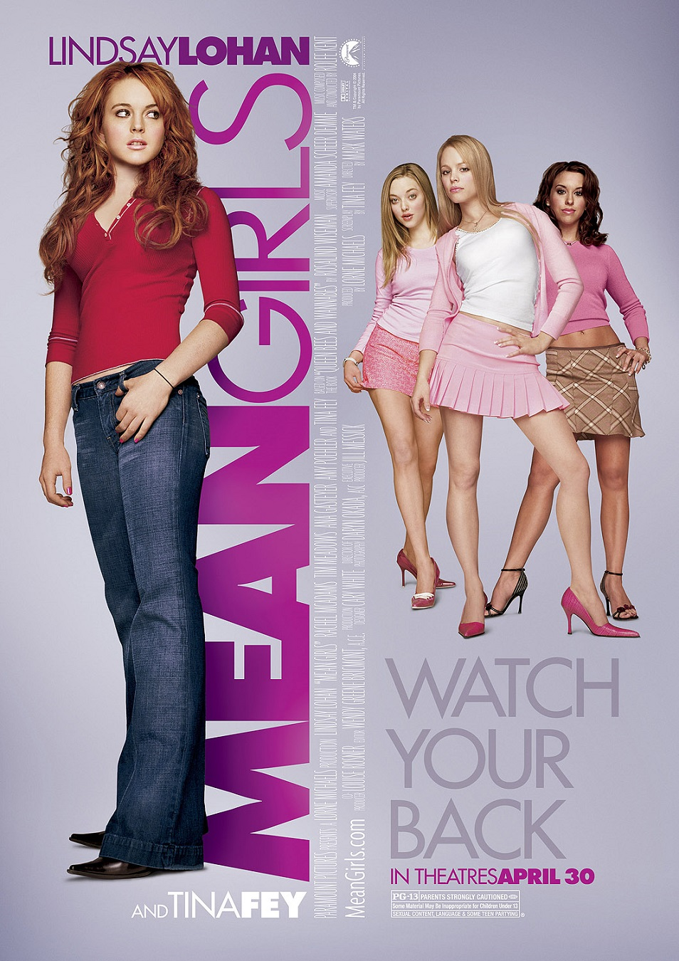 Mean Girls Moive Poster