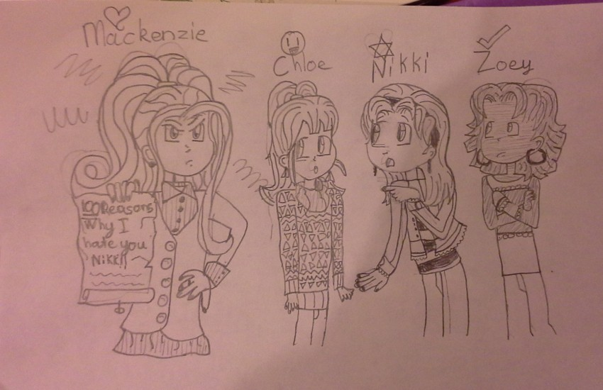 how to draw zoey from dork diaries