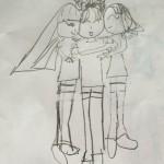 BFF group hug!