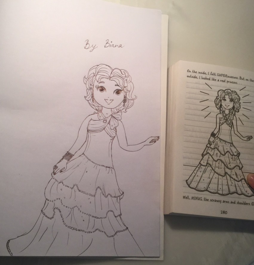 Nikki maxwell at the sweetheart dance! – Dork Diaries