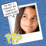 I FORGOT MY FAMILY'S LANGUAGE!!