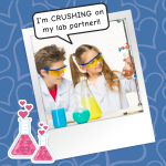 MY CRUSH IS NOW MY LAB PARTNER!!!