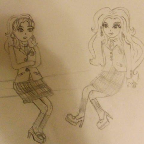 Mackenzie with Nikki