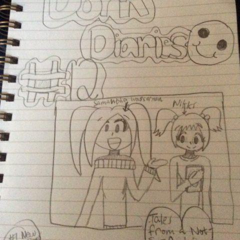 Dork Diaries 12!!! (The good drawings!)