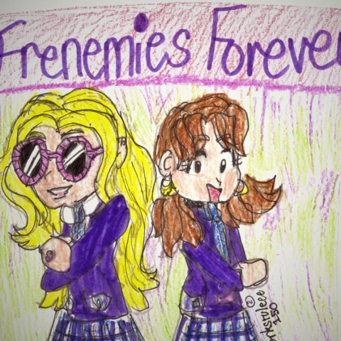 Frenemies Forever Front Cover Art