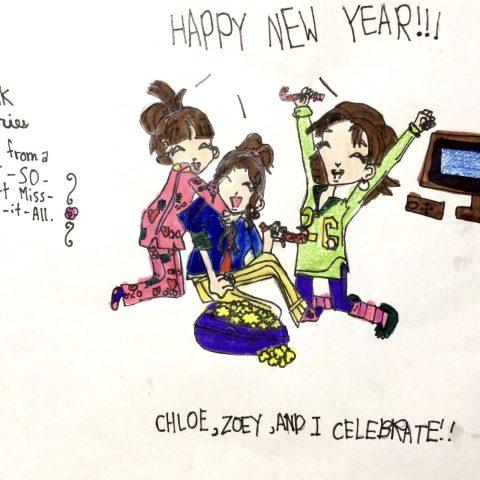 Chloe, Zoey, and Nikki Celebrate