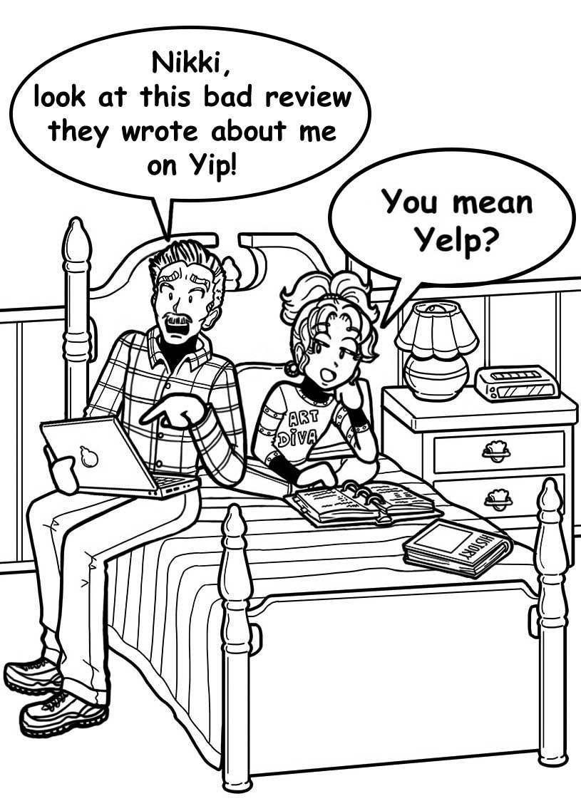 Nikki's Diary May 15th - dork diaries