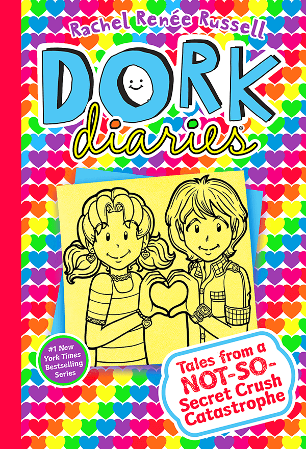 Dork Diaries 12 cover Tales from a not-so-secret crush catastrophe