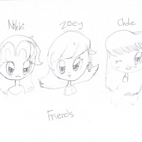 nikki true  friends!!! :D