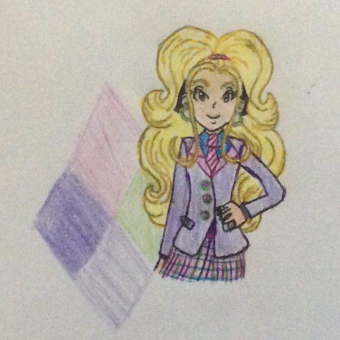 MacKenzie in her NHH Uniform