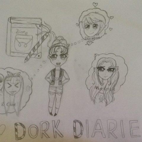 Dork diaries chibi