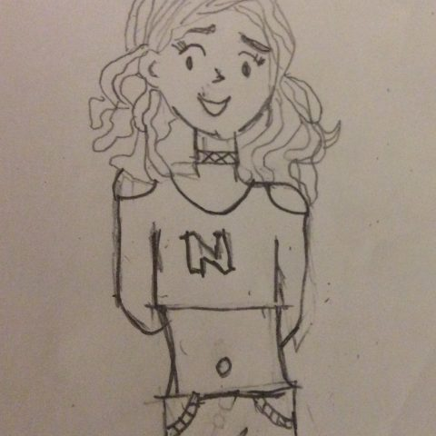 Nikki as a teen