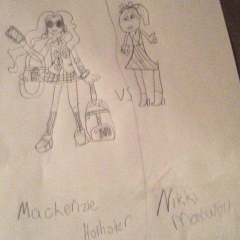 Mackenzie vs Nikki maxewell