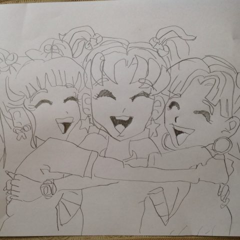 Niki With Zoe And Chloe