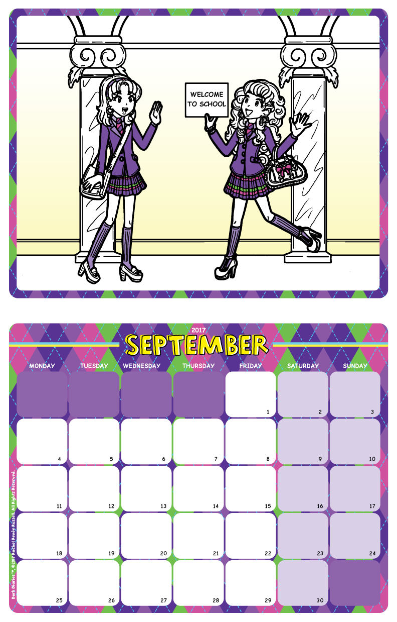 dork diaries-calendar-september2017-preview