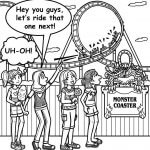 I'M SCARED OF ROLLER COASTERS!