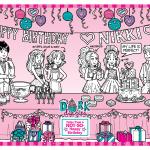 October Calendar – Happy Birthday!
