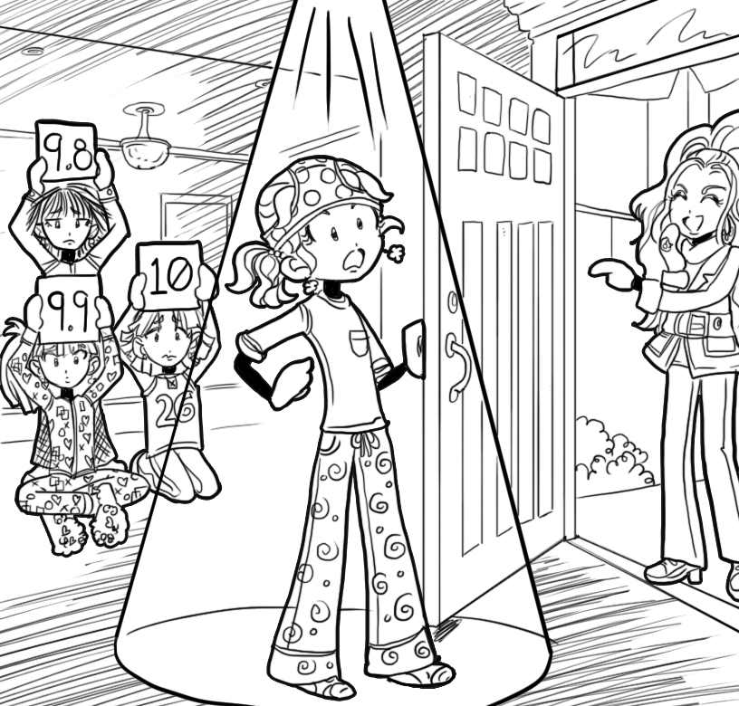 THE WORST SLEEPOVER EVER!! – Dork Diaries