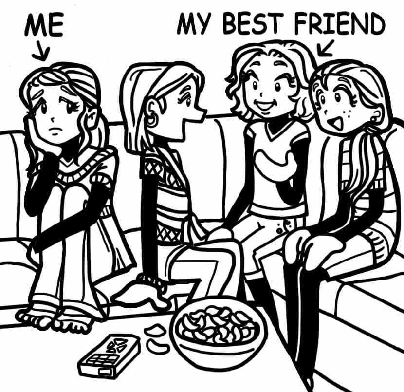 When Your Bff Is More Popular Than You Dork Diaries