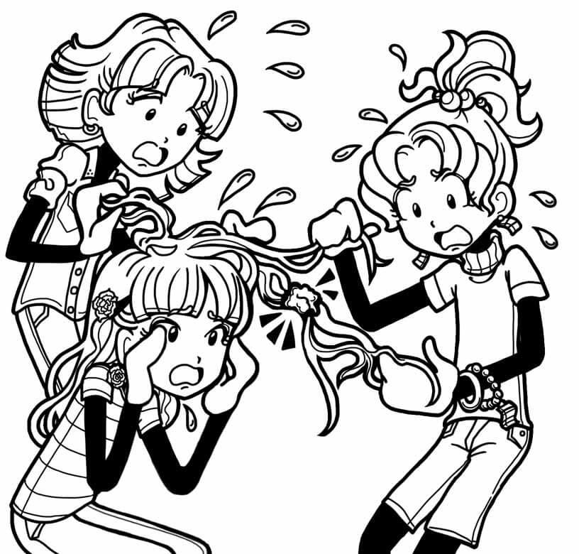 Gum in Chloe's Hair