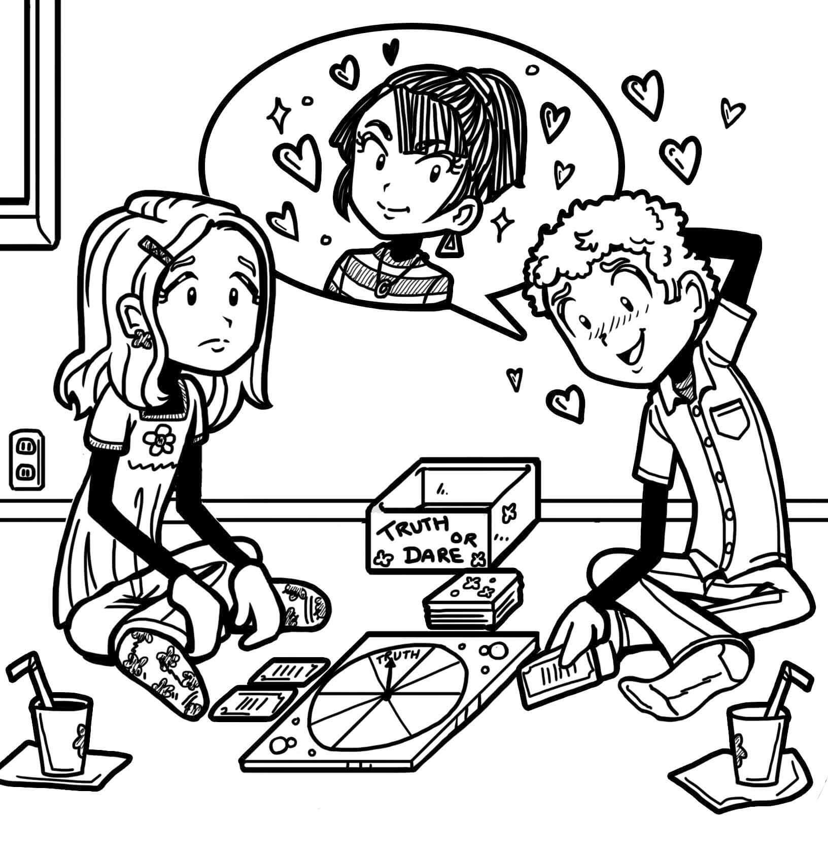 WHAT TO DO WHEN YOUR CRUSH LIKES SOMEONE ELSE – Dork Diaries