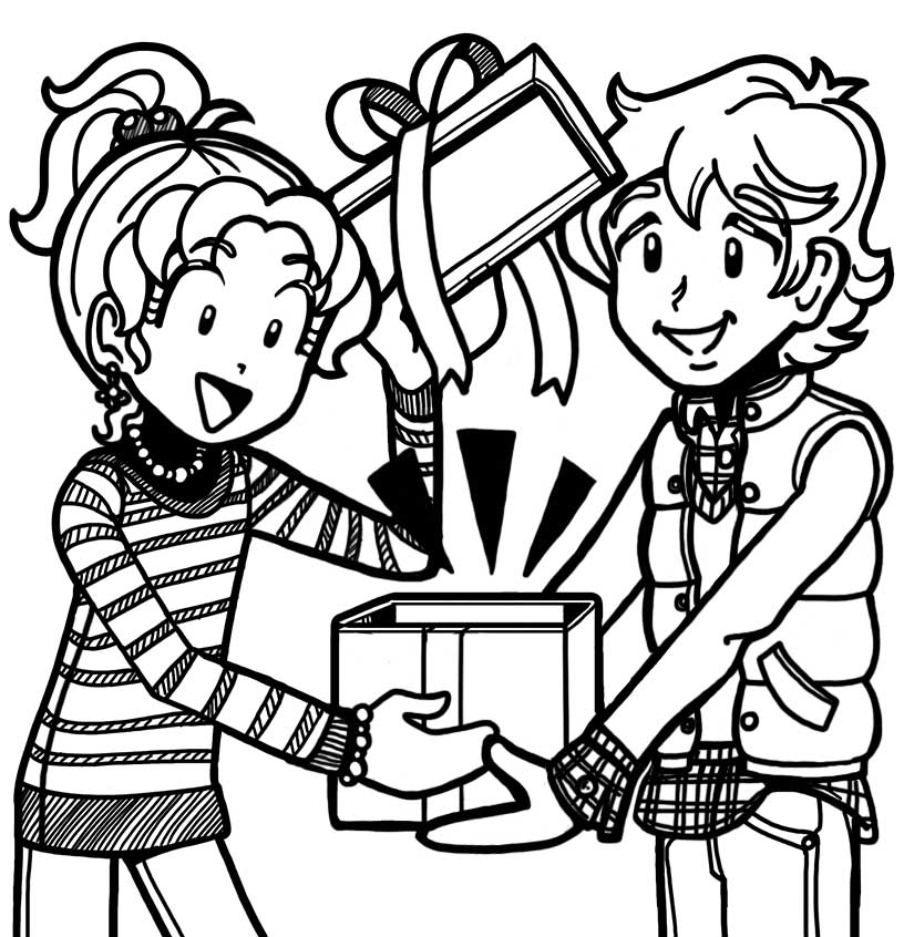 fan story about brandon�s christmas gift � dork diaries