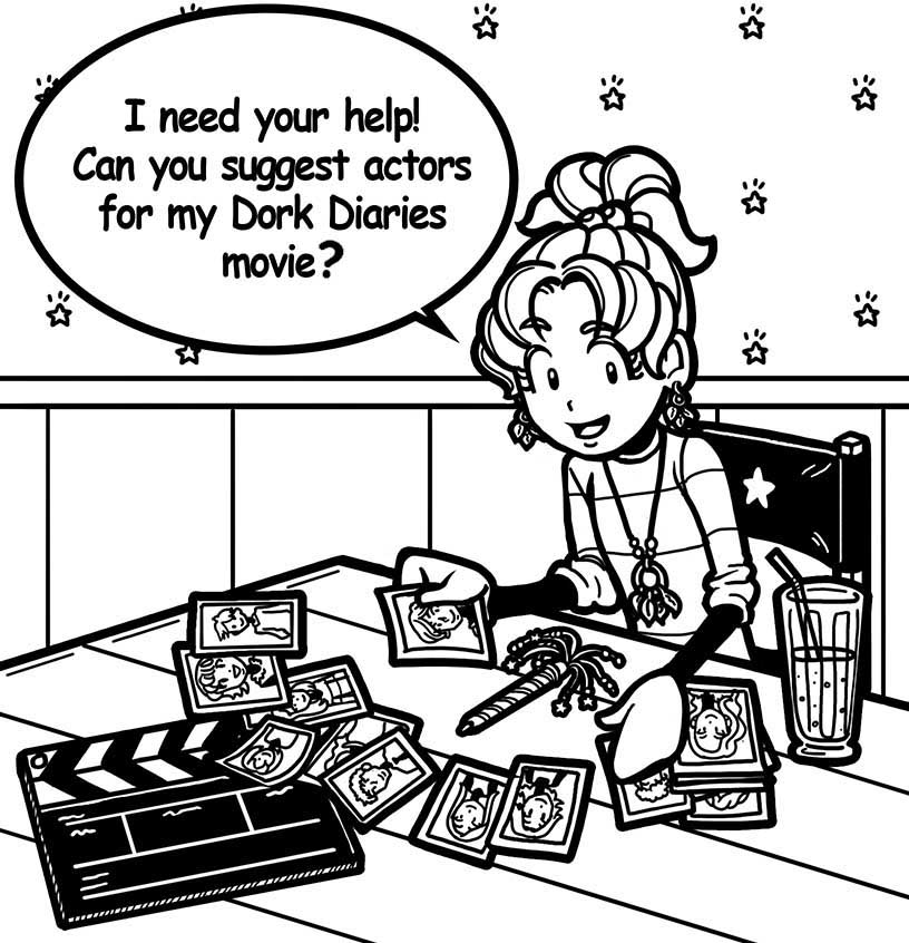 I NEED YOUR HELP WITH THE DORK DIARIES MOVIE!! – Dork Diaries