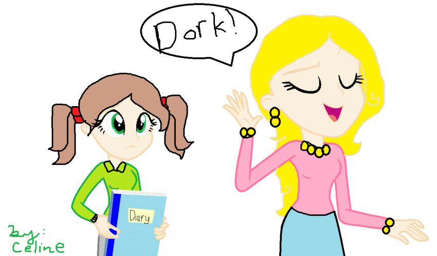 Nikki And Mackenzie Argue Dork Diaries