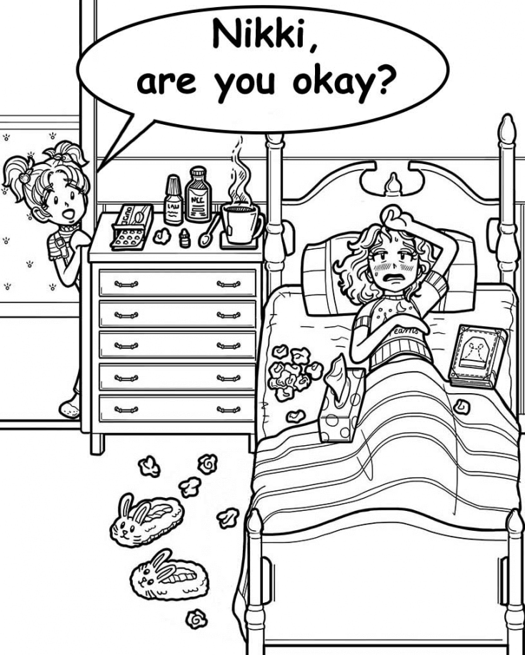 WARNING—SUPER CONTAGIOUS GERMS!!! – Dork Diaries