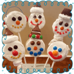 HOW TO MAKE SNOWMAN COOKIE POPS!