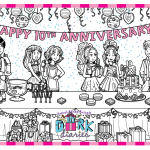 November Calendar – Happy 10th anniversary!