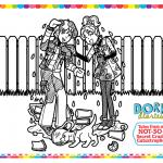 August Calendar: Summer Puppy Fun